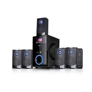 Mikoda MD-813BT 5+1 Usb+Sd+Fm Destekli Multimedia Bluetooth Speaker