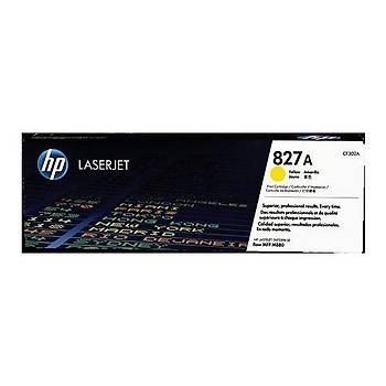 HP 827A Yellow Sarý 32.000 Sayfa Toner CF302A