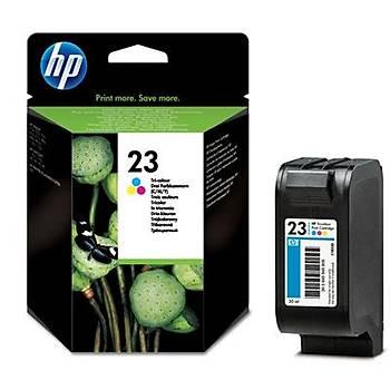 HP 23 Color Renkli Kartuþ C1823DE
