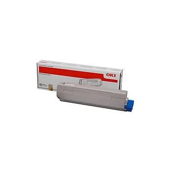 Oki C532-542 MC563-573 6bin Sayfa Yellow Sarý Toner 46490629