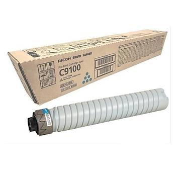 Ricoh C9100 Cyan Mavi Orjinal Fotokopi Toneri Pro C9100-9110 48.000 Sayfa