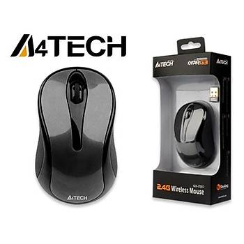 A4 Tech G3-280A Siyah Kablosuz V-Track Mouse