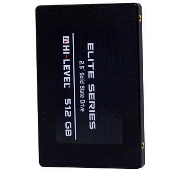 "Hi-Level 512GB Elite HLV-SSD30ELT-512G 560-540MB-s 2.5"" SATA3 SSD Disk + Aparat"