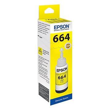 Epson T6644 Yellow Sarý Þiþe Mürekkep T66444A