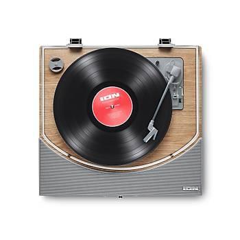 ION PREMIER LP Bluetooth - Hoparlörlü Ahþap Pikap