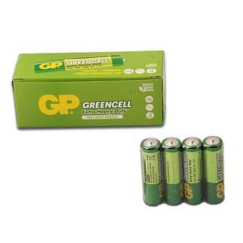 Gp Greencell R6 AA Boy Çinko Kalem Pil 40'lý Paket GP15G-2S4