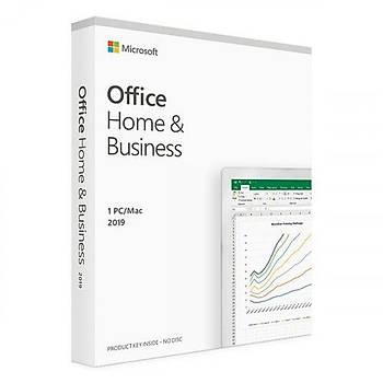 Microsoft Office Home and Business 2019 Türkçe Lisans Kutu T5D-03334 Ofis Yazýlýmý