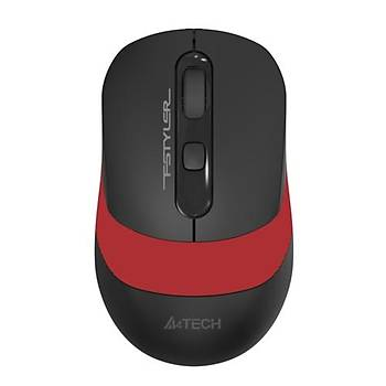 A4 Tech FG10 Kablosuz Mouse Kýrmýzý - 2000DPI