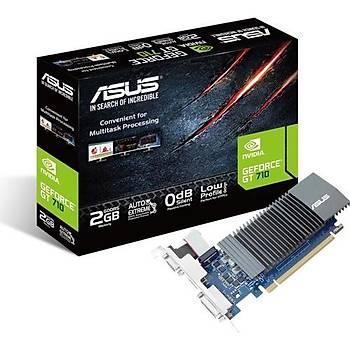 Asus Nvidia GeForce GT 710 2GB 64Bit GDDR5 (GT710-SL-2GD5-BRK) Ekran Kartý