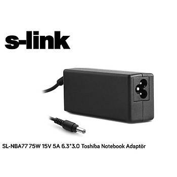 S-link SL-NBA77 75w 15v 5a 6.3-3.0 Notebook Adaptörü