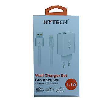 Hytech HY-XE11 1.1a Iphone Kablolu 2a Ev Þarj Adaptörü