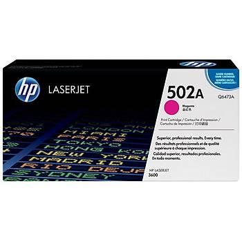HP 502A Magenta Kýrmýzý 4.000 Sayfa Toner Q6473A