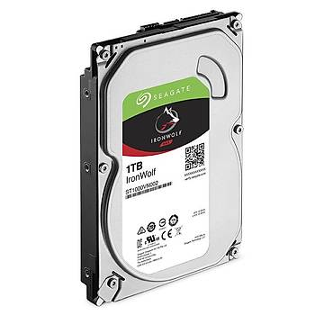 """Seagate 1Tb Ironwolf 3,5"""" 64Mb 5900Rpm St1000Vn002 Harddisk"""