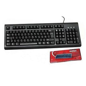 Everest KB-1002 Siyah USB Q Standart Klavye