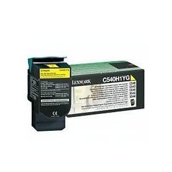 Lexmark C540H1YG 2.000 Sayfa Yellow Sarý Toner C540-543-544 X543-544-546-548