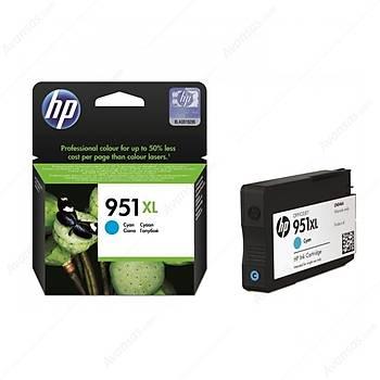 HP 951XL Cyan Mavi Yüksek Kapasite Kartuþ CN046AE