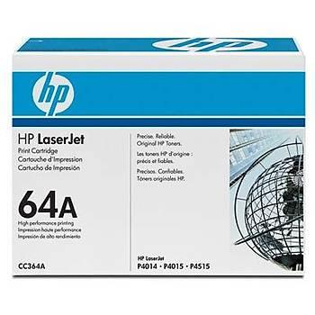 HP 64A Black Siyah 10.000 Sayfa Toner CC364A