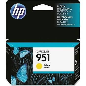 HP 951 Yellow Sarý Kartuþ CN052AE
