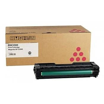 Ricoh SPC 220E Magenta Kýrmýzý Toner Spc-221-222-240