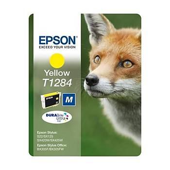 Epson BX305 SX125-425 Yellow Sarý Mürekkep Kartuþ T12844022