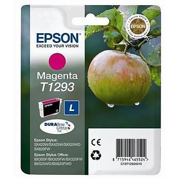 Epson BX305-320 SX425 Magenta Kýrmýzý Mürekkep Kartuþ T12934022