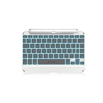 Everest KB-BT11 Beyaz Bluetooth iPad Mini Iþýklý Everest KB-BT11 Kablosuz Stand-Klavye