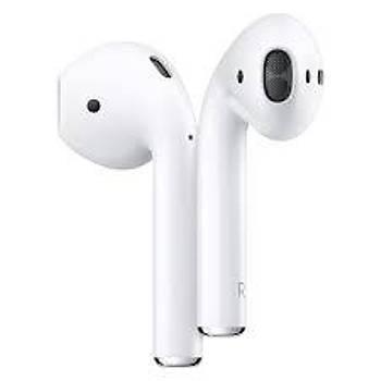 Apple MV7N2TU-A AirPods Bluetooth Kulaklýk 2.Nesil ve Þarj Kutusu