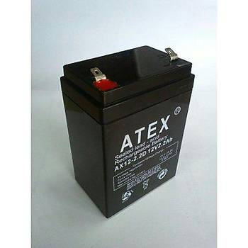 Atex AX-12V 1.3AH Bakýmsýz Kuru Akü