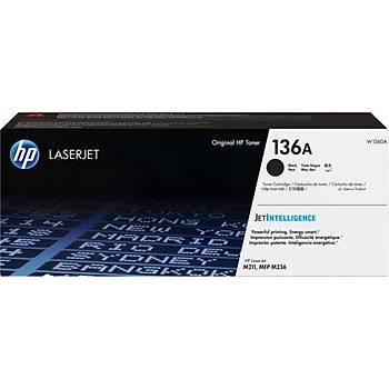 HP 136A Black Siyah 1.150 Sayfa Toner W1360A