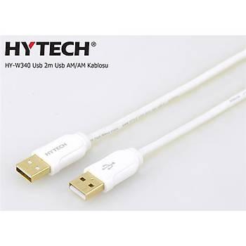 Hytech HY-W340 2mt Usb TO USB AM-AM Kablosu