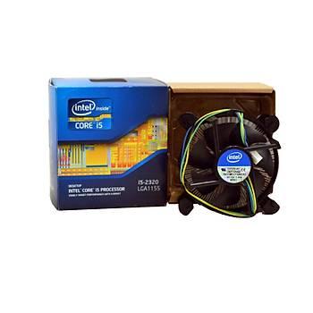 INTEL 1150-1151-1155-1156 Alüminyum Orjinal Fan