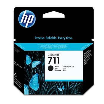 HP 711 Black Siyah 80ML Plotter Kartuþu CZ133A
