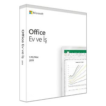 Microsoft Office 2019 Ev ve Ofis Türkçe Lisans Kutu T5D-03258 Ofis Yazýlýmý