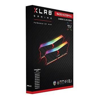 16 GB DDR4 4000 Mhz PNY XLR8 EPIC-X RGB (8GBx2)