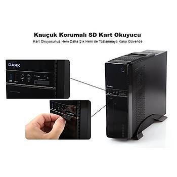 Dark Aura 300W USB3.0, Kart Okuyuculu,MicroATX - Mini ITX Kasa