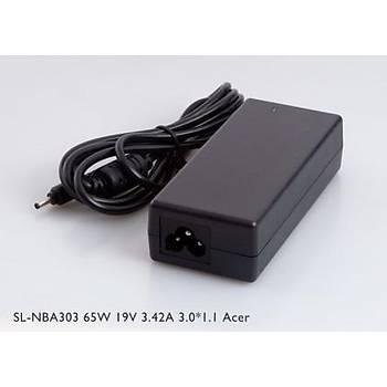 S-link SL-NBA303 65w 19v 3.42a 3.0-1.1 Notebook Adaptörü