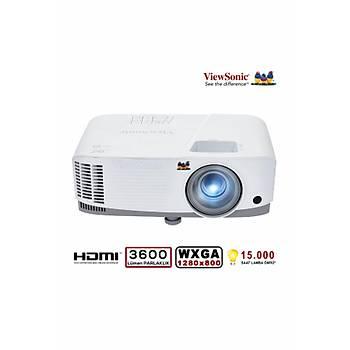 Viewsonic PA503W 3600 Ansilümen 1280x800 WXGA 3D DLP Projeksiyon Cihazý