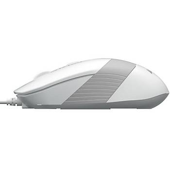 A4 Tech FM10 Mouse USB Beyaz 1600DPI