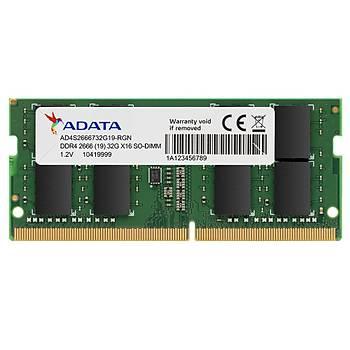 Adata 8GB 2666MHz DDR4 Ram AD4S266638G19-S Notebook Ram