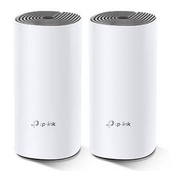Tp-Link DECO E4 2Li Paket AC1200 Tüm Evi Kapsayan Mesh Wifi Sistemi