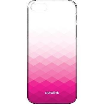 Aprolink APR-I6PP10PK Apple iPhone 6 Gradient Yari Ultra Pembe Kýlýf