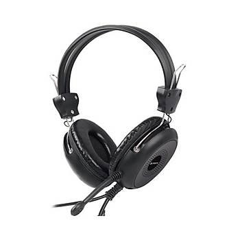 A4 Tech HS-30 Kulaklýk Mýkrofon 2M Kablo Ses Seviyesi Kontrolü