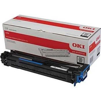 Oki C911-931 40bin Sayfa Black Siyah Drum 45103716