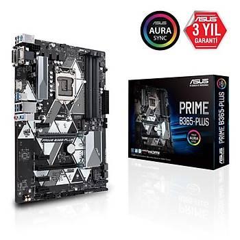 Asus PRIME B365-PLUS DDR4 2666MHz S+GL 1151p8