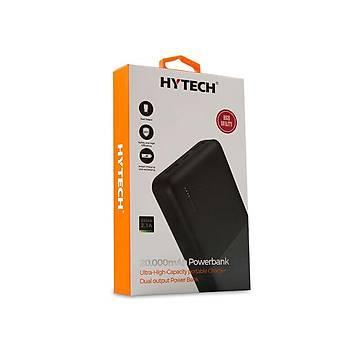 Hytech HP-C20 20000mAh Powerbank 2 Usb Port Siyah Taþýnabilir Pil Þarj Cihazý