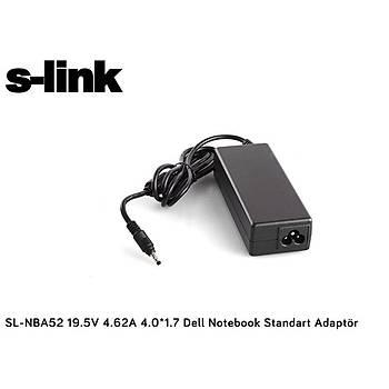 S-link SL-NBA52 19.5v 4.62a 4.0-1.7 Notebook Adaptörü
