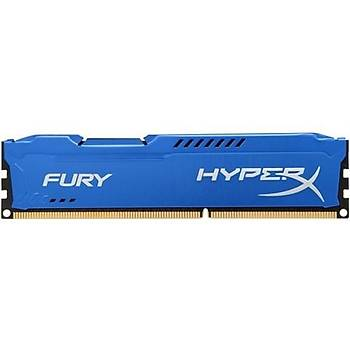 Kingston 4gb DDR3 1600mhz Hyperx Fury Mavi PC Ram HX316C10F-4