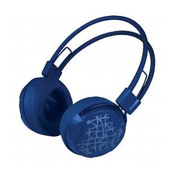 Arctic AR-ASHPH00016A P604 Wireless Kablosuz Kulak Üstü Kulaklýk ( Mavi )