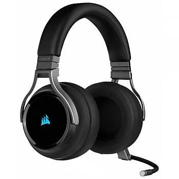 Corsair Virtuoso RGB CA-9011185-EU Kablosuz Mikrofonlu Oyuncu Kulaklýðý Siyah PC / XBOX ONE / PS4 /