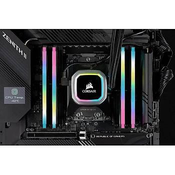 Corsair Vengeance RGB PRO SL 32GB (2x16GB) DDR4 3200Mhz CMH32GX4M2E3200C16 Bellek Siyah